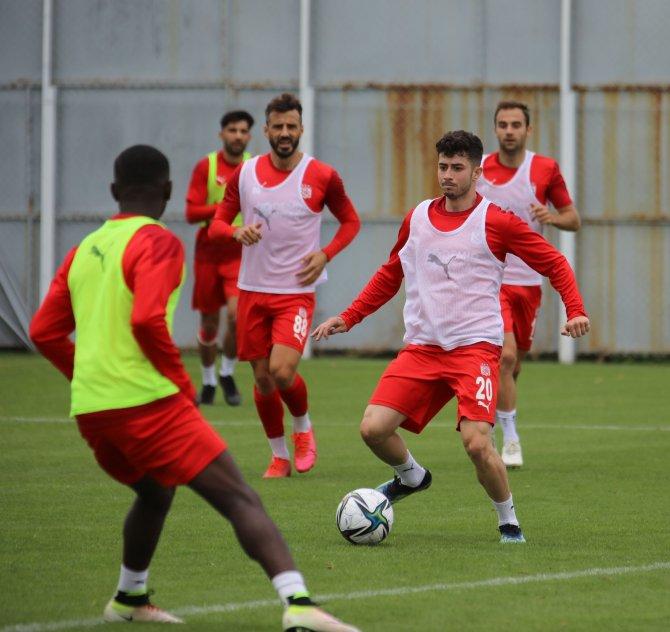 Sivasspor, Konya maçı hazırlıklarına başladı