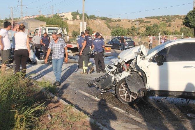 Zincirleme kaza: 3'ü engelli 5 yaralı