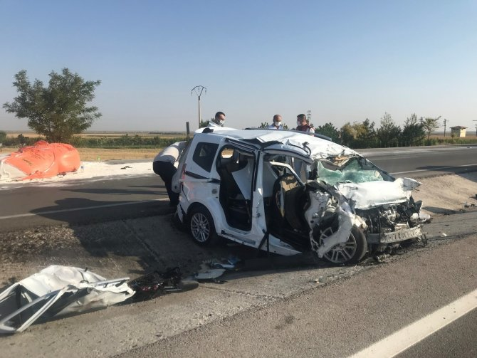 Konya'da 6 kişinin öldüğü feci kazada hayatını kaybedenlerin kimlikleri belli oldu!