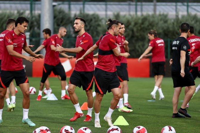 A Milli Futbol Takımı, Karadağ maçına hazır