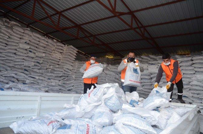 2 bin 500 aileye yakacak yardımı