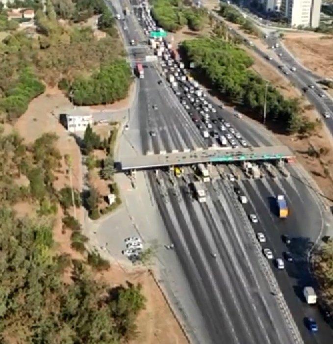 İstanbul'da helikopter destekli trafik denetimi