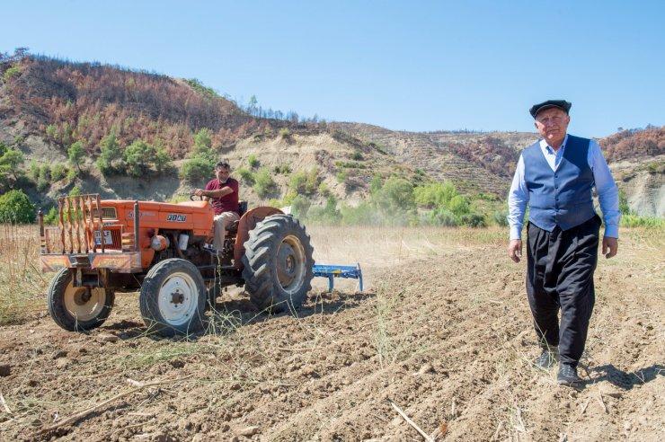 Kompost gübre, Aladağ'da yanan topraklara can verecek