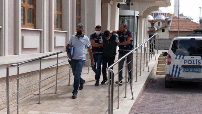 Konya'da arkadaşını öldüren cinayet zanlısı saklandığı metruk evde yakalandı