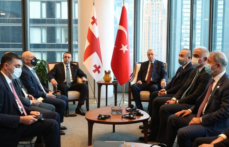 Cumhurbaşkanı Erdoğan, Gürcistan Başbakanı ile görüştü