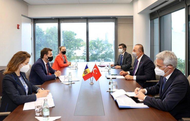 Dışişleri Bakanı Çavuşoğlu, Moldovalı mevkidaşı Popescu ile görüştü