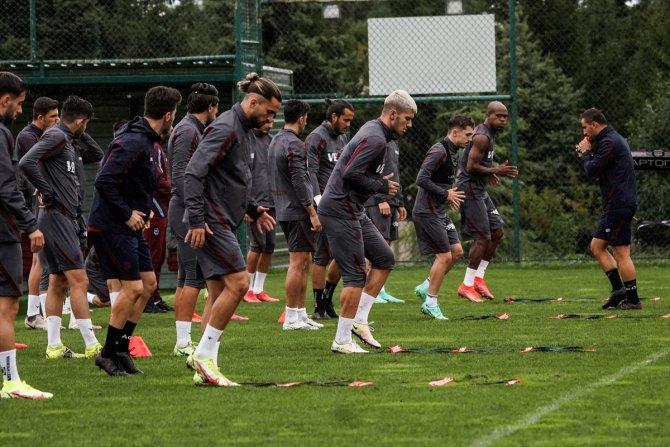 Trabzonspor, Konyaspor maçı hazırlıklarını tamamladı