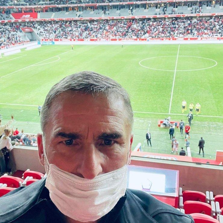 Stefan Kuntz'un da izlediği maçta Burak'tan iki asist