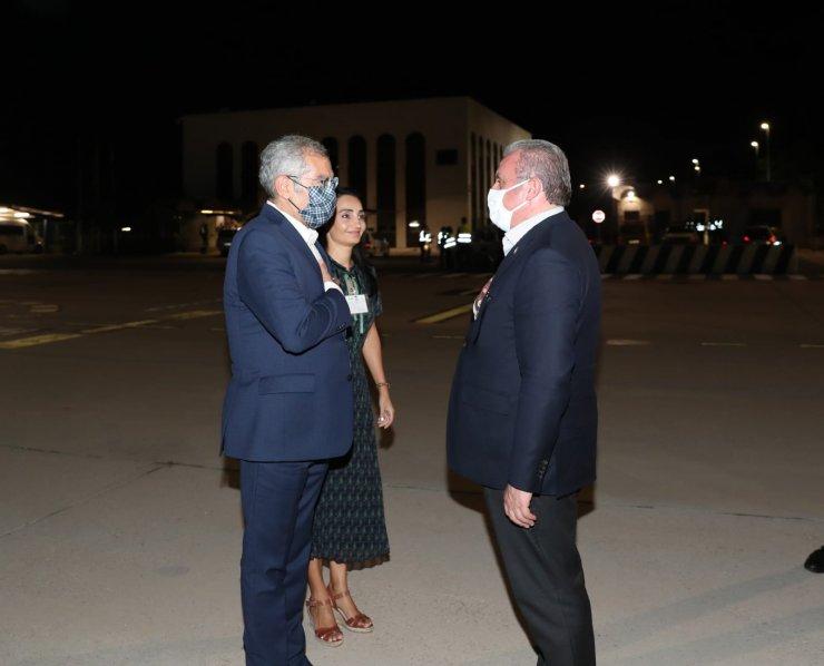 TBMM Başkanı Şentop, İspanya'dan ayrıldı
