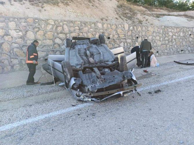 Malatya'da trafik kazası: 3 yaralı