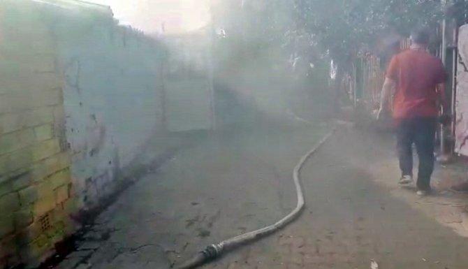 Aydın'da ev yangını korkuttu