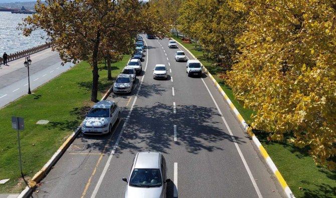 Tekirdağ'da 1 ayda 8 bin 534 aracın devri yapıldı