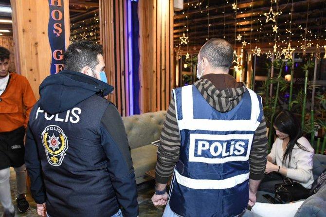 """Aksaray'da """"Türkiye Huzur ve Güven Uygulaması"""""""
