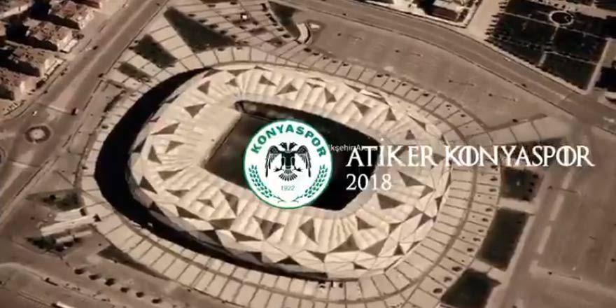 Atiker Konyaspor Eto'yu resmi hesaptan böyle duyurdu