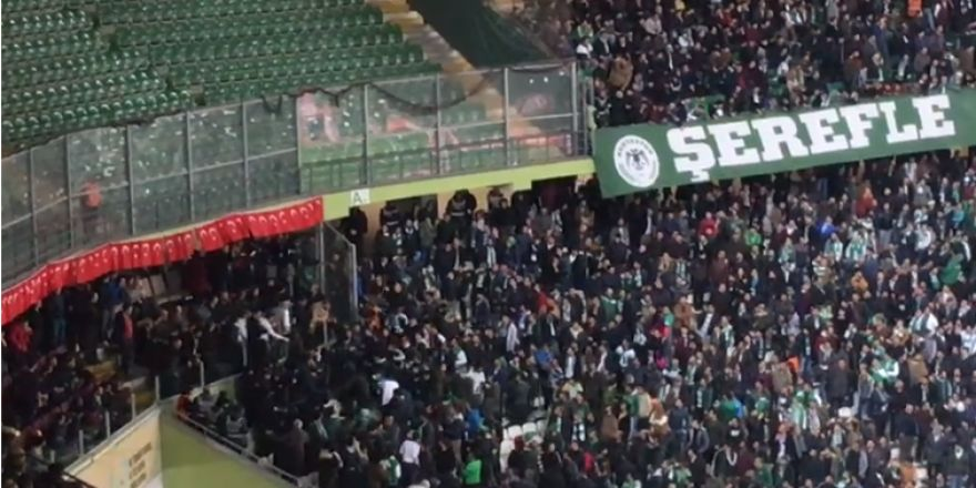 Konyaspor - Beşiktaş maçında gerginlik!
