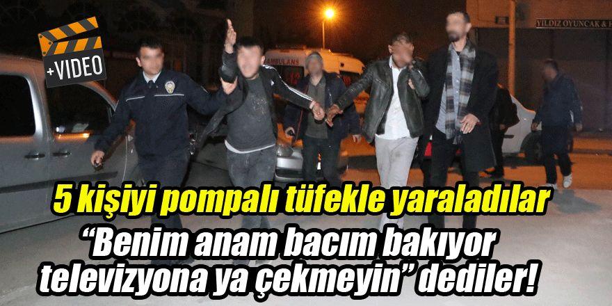 Konya'da olaylı gece! 5 kişiyi pompalı tüfek ve bıçakla yaraladılar, çekmeyin dediler