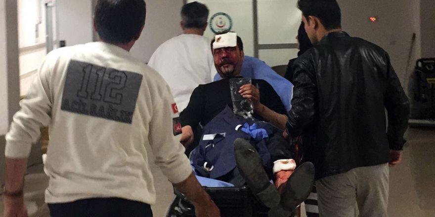 Konya'da satırlı saldırı! Maskeli iki kişi aranıyor...