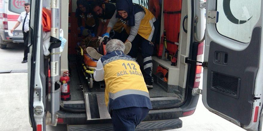 Konya'da mezarlıkta yaralı bulunan Suriyeli genç hastanede öldü