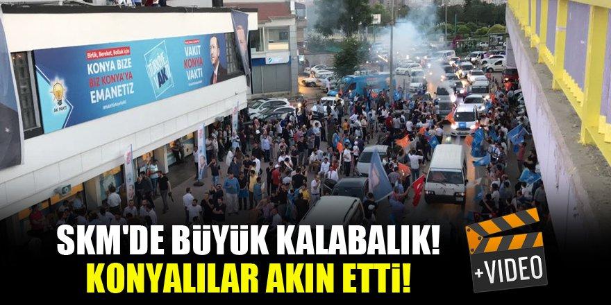 SKM'de büyük kalabalık! Konyalılar akın etti! VİDEO