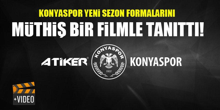 Konyaspor Kulübü, yeni sezonda giyeceği formaları tanıttı