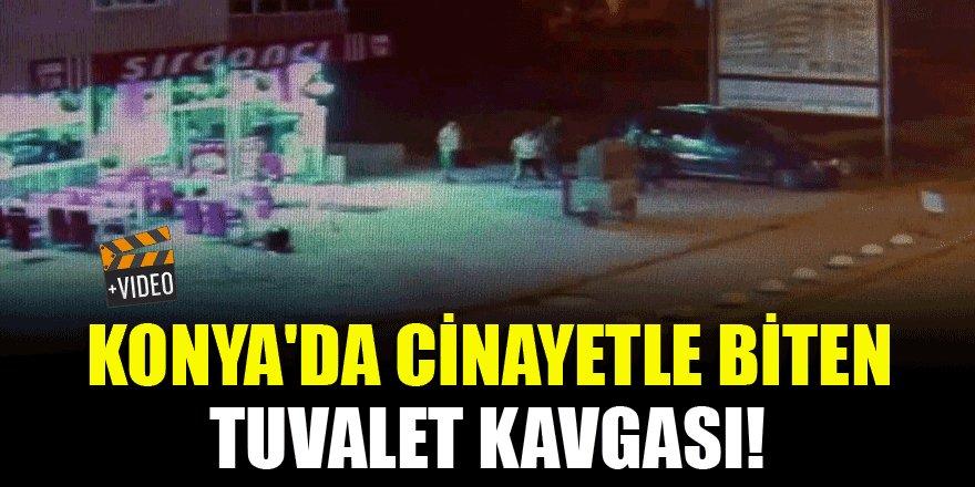 Konya'da cinayetle biten tuvalet kavgası!