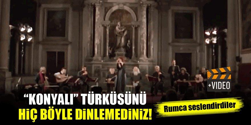 """""""Konyalı"""" türküsünü hiç böyle dinlemediniz"""
