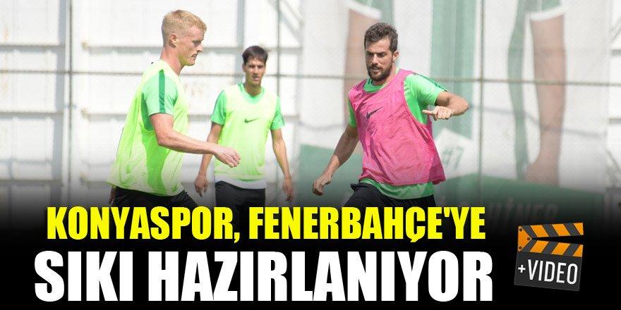 Konyaspor, Fenerbahçe'ye sıkı hazırlanıyor