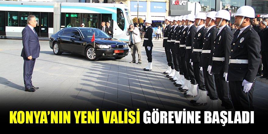 Konya'nın yeni Valisi Cüneyit Orhan Toprak görevine başladı