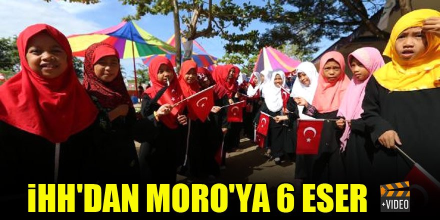 İHH'dan Moro'ya 6 kalıcı eser