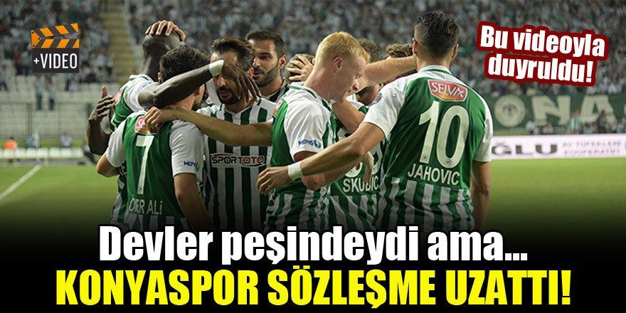 Ömer Ali Şahiner 2022'ye kadar Konyaspor'da!
