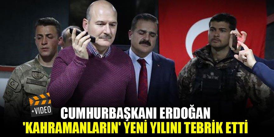 Cumhurbaşkanı Erdoğan 'kahramanların' yeni yılını tebrik etti
