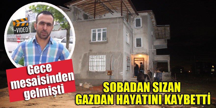 Konya'da sobadan sızan gaz can aldı