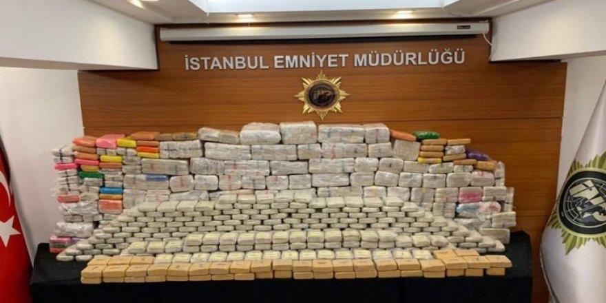 İstanbul'da 850 kilogram eroin ele geçirildi