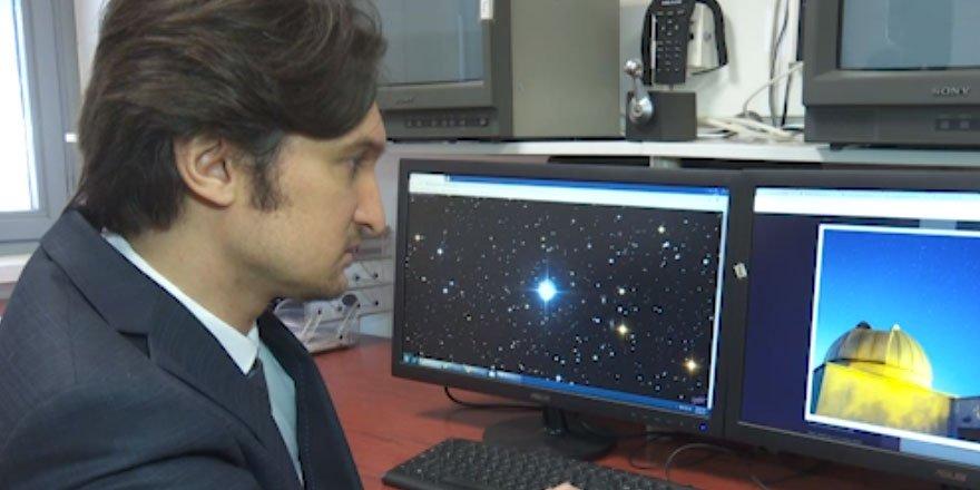 Türk astronom uzayda 'tuhaf dev yıldız' keşfetti