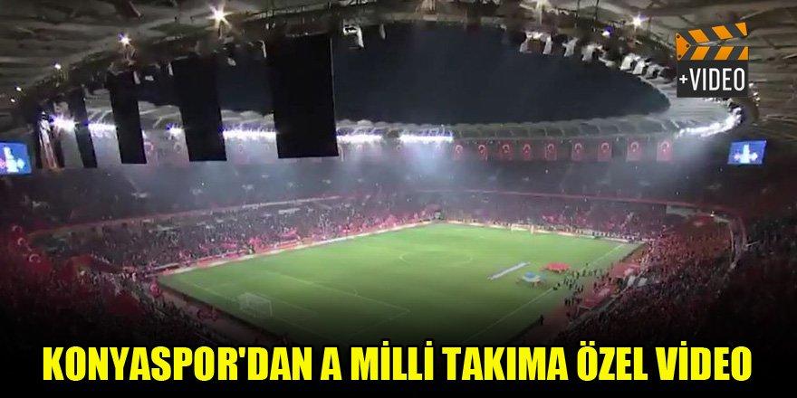 Konyaspor'dan A Milli Takım'a özel video