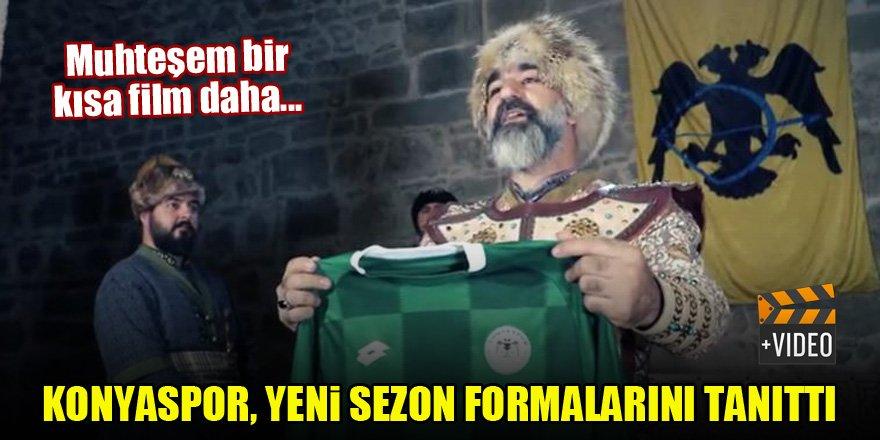 Konyaspor, yeni sezon formalarını bu kısa filmle tanıttı!