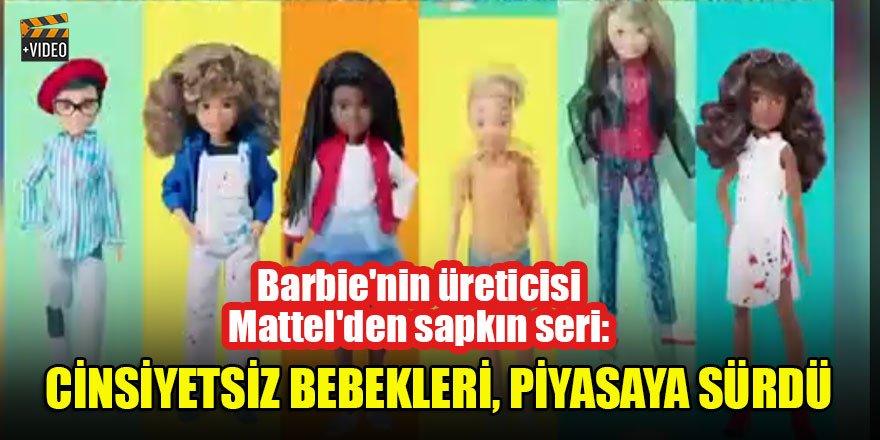 Barbie'nin üreticisi Mattel'den sapkın seri: Cinsiyetsiz bebekleri, piyasaya sürdü