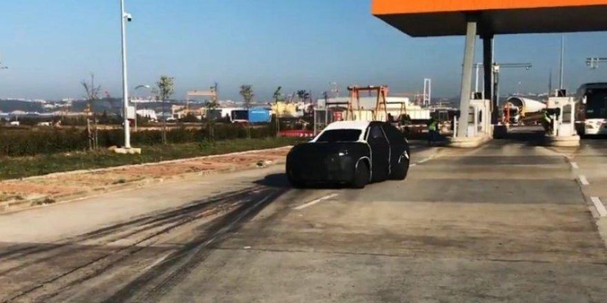 Türkiye'nin Otomobili'nin ilk hareketli görüntüsü paylaşıldı