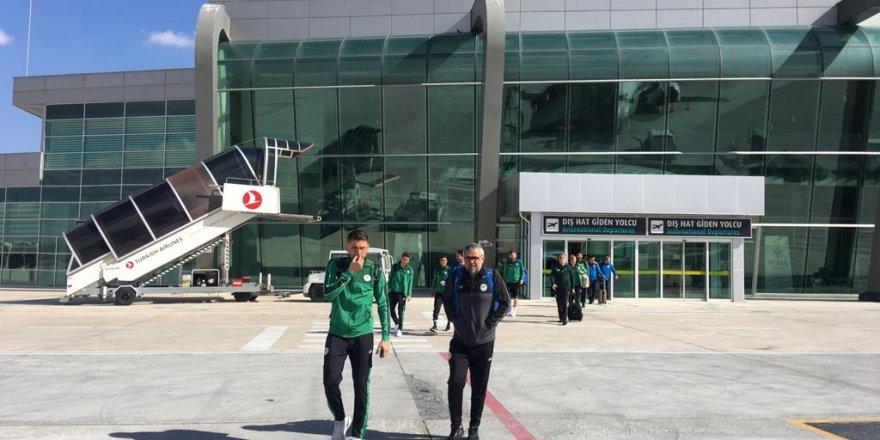 Konyaspor Malatya'ya uçtu