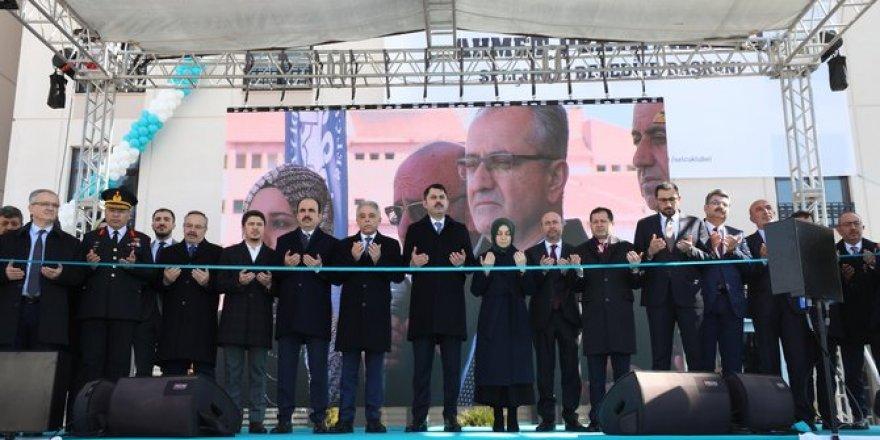 15 Temmuz Yurt Yerleşkesi açılış töreni