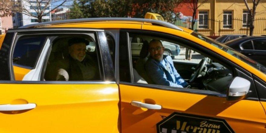 Başkan Kavuş 'Bizim Meram Taksi' ile Meram yollarında!