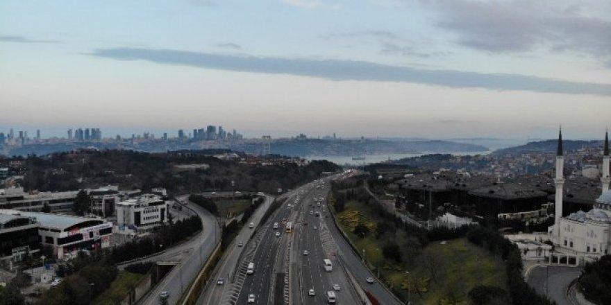 İstanbul trafiğine 'koronavirüs' etkisi
