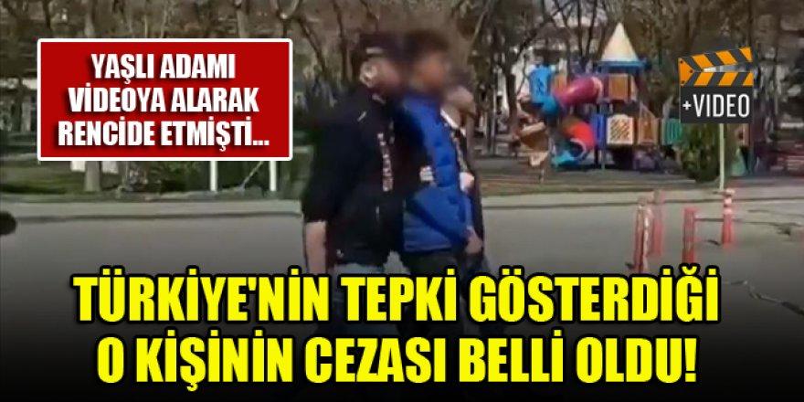 Türkiye'nin tepki gösterdiği o kişinin cezası belli oldu!