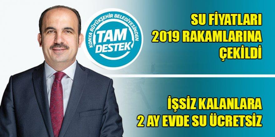 Konya Büyükşehir'den esnafa ve vatandaşa tam destek