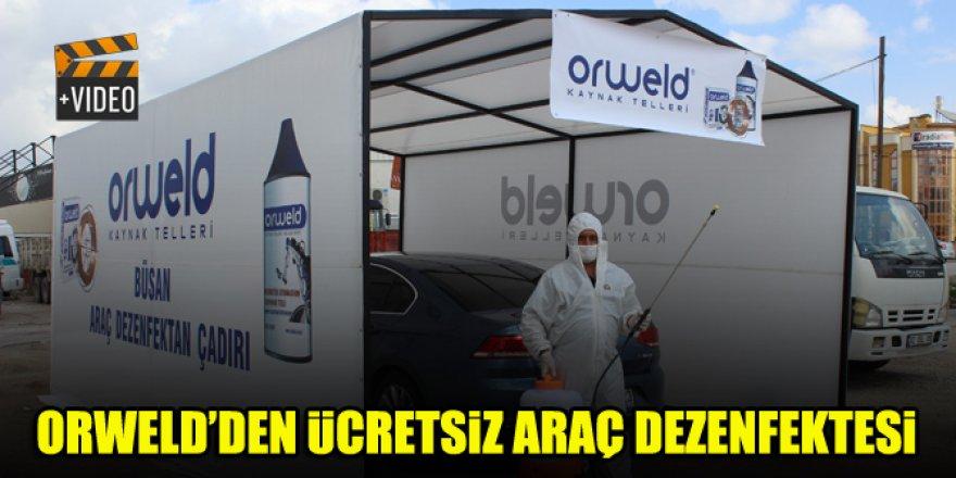 Orweld'den ücretsiz araç dezenfekte uygulaması