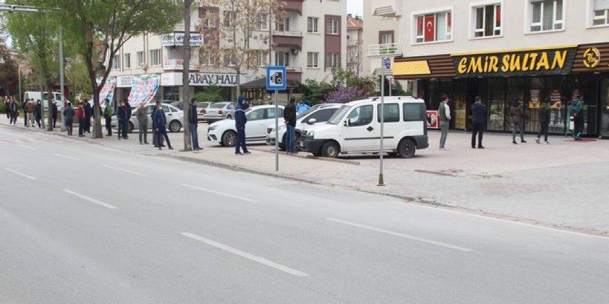 Konya'da Ramazan'ın vazgeçilmezi pideye yoğun ilgi