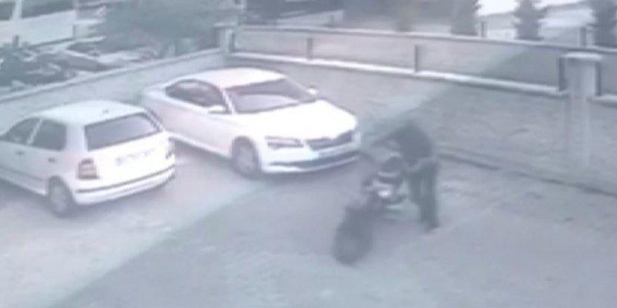 Konya'da bir garip olay! Çaldığı motosikleti çalıştıramayınca geri getirip yerine bıraktı