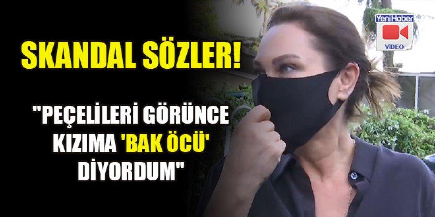 """Hülya Avşar'dan skandal sözler! """"Peçelileri görünce kızıma 'bak öcü' diyordum"""""""