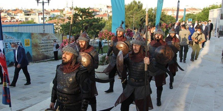 Konya'nın başşehir oluşunun 923. yıl dönümü kutlandı