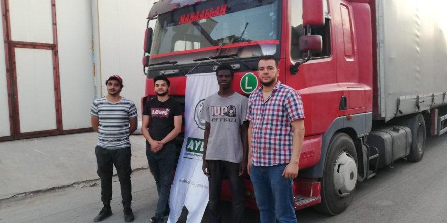 Ayder'in Suriye'ye yardımları sürüyor